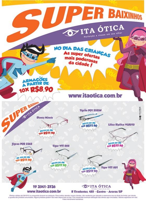 No dia das Crianças, A Ita Ótica tem as super ofertas mais poderosas da  cidade! e98539264f