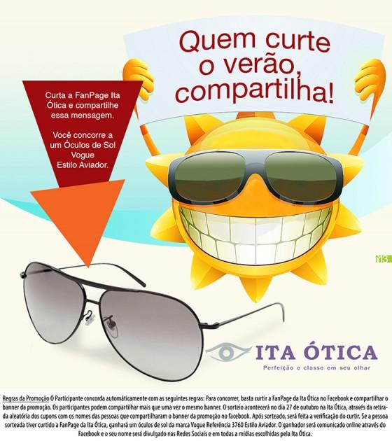 Sorteio Ita Ótica! Participe – Ita Ótica – Blog sobre Moda e Tendências 79ed8de8ef